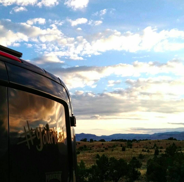 #YourLead Van, Teton Sports, Sportsman's Warehouse, van life, living in a van, Wilderness Press, Gear Forward